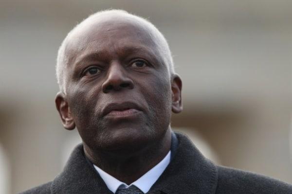 Presidente da República angolana, José Eduardo dos Santos