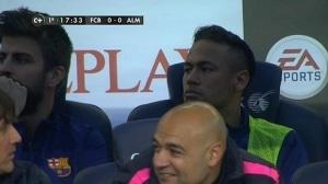 suplencia de Neymar